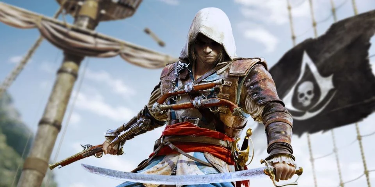 Assassin's Creed 4 Fan Decorates Old Workplace With Incredible Art