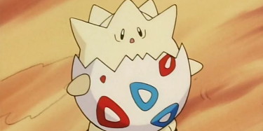 Pokemon Fan Creates Incredible Stained-Glass Togepi for Halloween