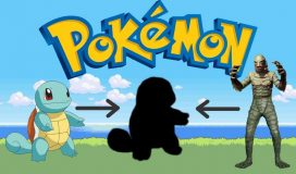 Pokemon Fanart Combines Squirtle and The Creature from the Black Lagoon